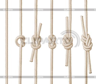 Knoten aus Seil | Foto mit hoher Auflösung |ID 3047812