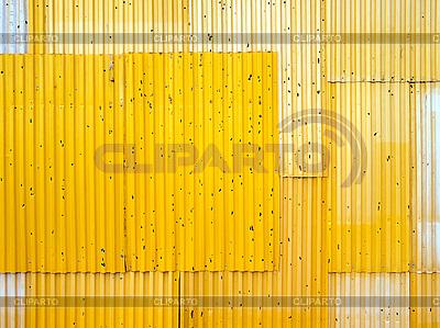 Gelber Zaun | Foto mit hoher Auflösung |ID 3048528