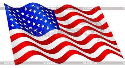 Американский флаг | Векторный клипарт |ID 3051394