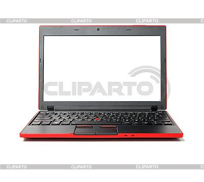 Red laptop | Foto stockowe wysokiej rozdzielczości |ID 3051510