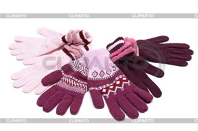Gestreifte Handschuhe | Foto mit hoher Auflösung |ID 3050769