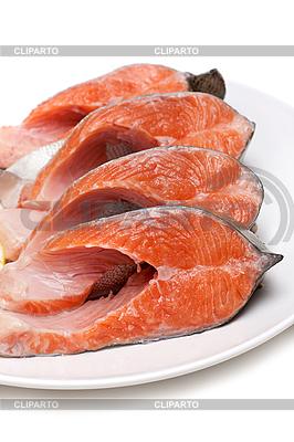 Rote Fische auf dem Teller | Foto mit hoher Auflösung |ID 3050776