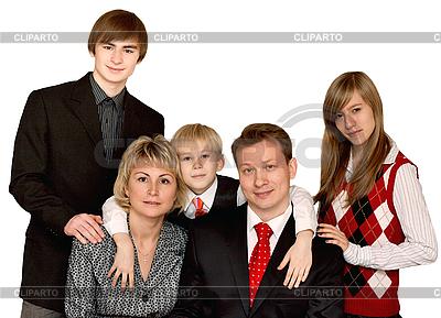 Große Familie | Foto mit hoher Auflösung |ID 3060220