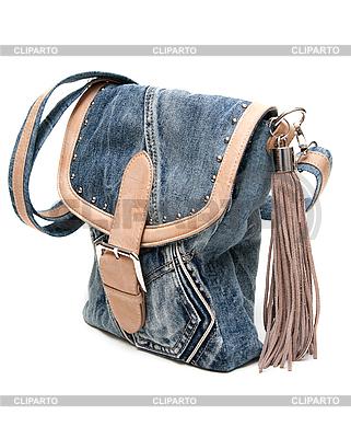 Сумка через плечо из джинсы своими руками