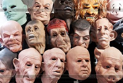 Gummi-Masken | Foto mit hoher Auflösung |ID 3065885