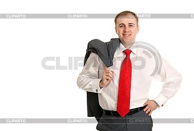Man in einem weißen Hemd | Foto mit hoher Auflösung |ID 3067179