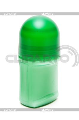 Gesperrt grünen Fläschchen Deodorant | Foto mit hoher Auflösung |ID 3309398