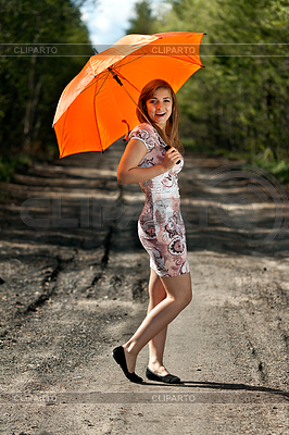 Slender girl | Foto stockowe wysokiej rozdzielczości |ID 3336445