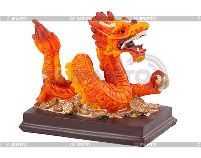 Dragon statuette | Foto stockowe wysokiej rozdzielczości |ID 3339470