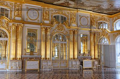 Екатерининский дворец, Золотой зал | Фото большого размера | CLIPARTO