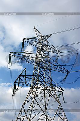 Hochspannungs-Elektro-Turm | Foto mit hoher Auflösung |ID 3049121
