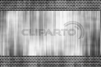 Metalowa płyta | Stockowa ilustracja wysokiej rozdzielczości |ID 3051099