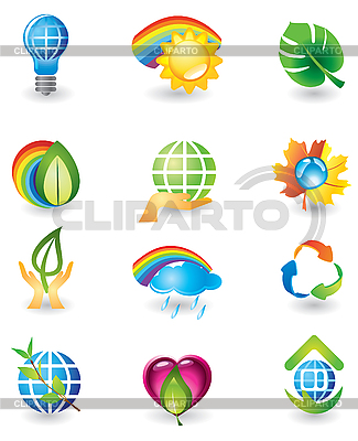 Natur-Icons | Stock Vektorgrafik |ID 3055808