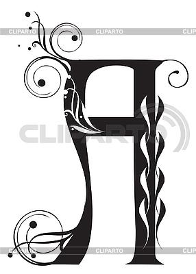 Ozdobne pismo | Klipart wektorowy |ID 3076273