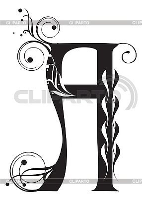 Dekorativer Buchstabe A | Stock Vektorgrafik |ID 3076273