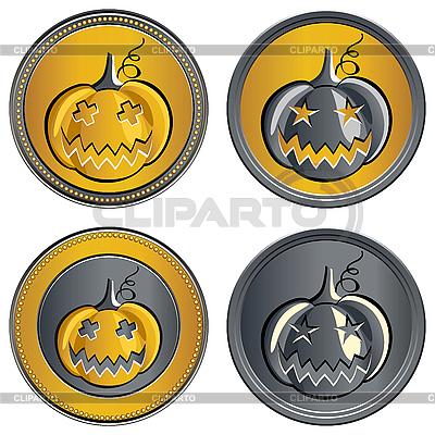 Halloween dynie | Klipart wektorowy |ID 3061858