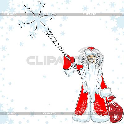 Happy Santa Claus | Klipart wektorowy |ID 3082432