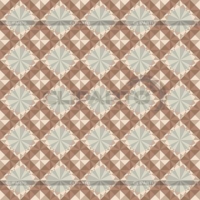 Nahtloses braunes geometrisches Muster | Stock Vektorgrafik |ID 3134880