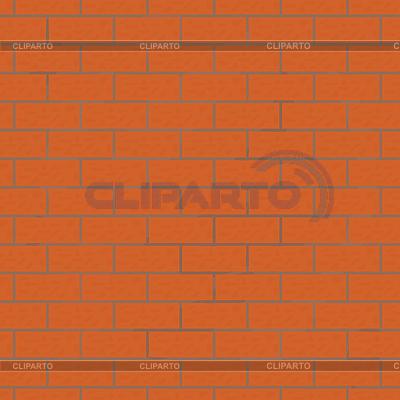 Jednolite tło z murem | Klipart wektorowy |ID 3055276
