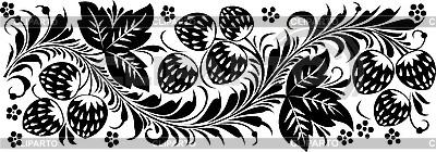 Rosyjski tradycyjne ozdoby Hohloma | Klipart wektorowy |ID 3059928