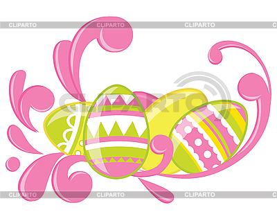 复活节彩蛋 | 向量插图 |ID 3052697