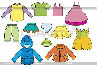 Clothing | Stock Photos and Vektor EPS Clipart | CLIPARTO