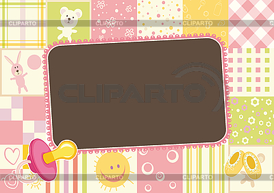 Free Image on Pixabay  Baby Girl Photo Frame Border