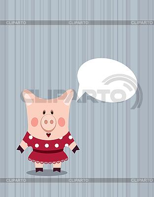 Lustiges schweinchen iarada
