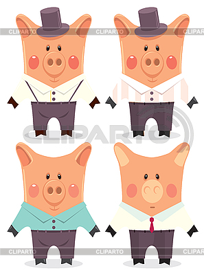 Male pig cartoon characters - photo#20