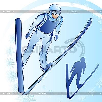 Skoki z trampoliny | Klipart wektorowy |ID 3053572