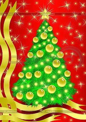 Weihnachtsbaum | Stock Vektorgrafik |ID 3053632