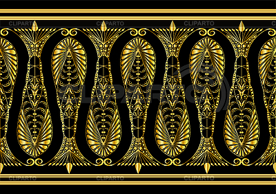 Goldenes Muster | Stock Vektorgrafik |ID 3062532
