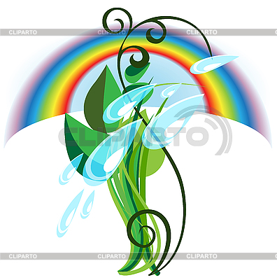 Regenbogen | Stock Vektorgrafik |ID 3052246