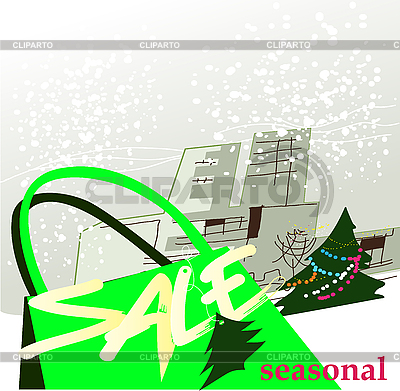 Sezonowa sprzedaż   Klipart wektorowy  ID 3082185