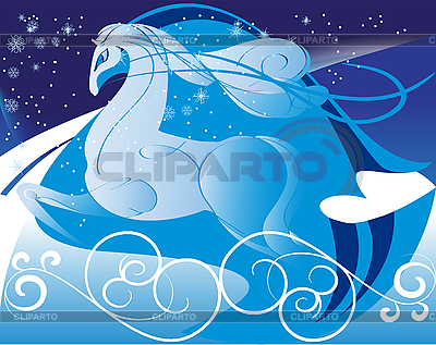 Pferd im Galopp | Stock Vektorgrafik |ID 3097277