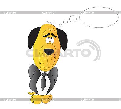 Träumender Hund | Stock Vektorgrafik |ID 3052874