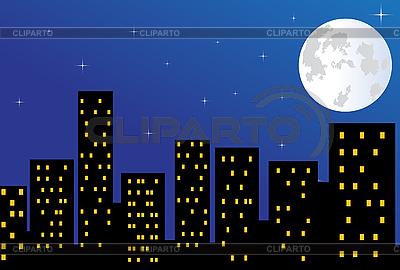 Stadt in der Nacht | Foto mit hoher Auflösung |ID 3053479