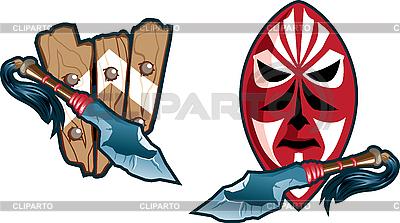 Schilde der Eingeborenen | Stock Vektorgrafik |ID 3052289