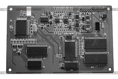 Elektronische Platte | Foto mit hoher Auflösung |ID 3053605