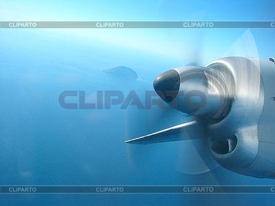 Blick aus dem Flugzeug | Foto mit hoher Auflösung |ID 3054507