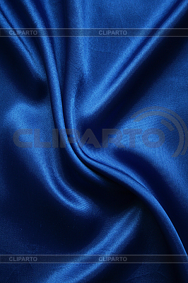 Glatte elegante dunkelblaue Seide | Foto mit hoher Auflösung |ID 3106470