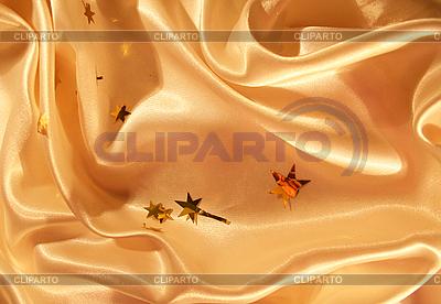 Goldener Seiden-Hintergrund | Foto mit hoher Auflösung |ID 3107703