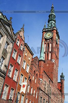 Polen. Stadt Danzig. Rathaus | Foto mit hoher Auflösung |ID 3110246