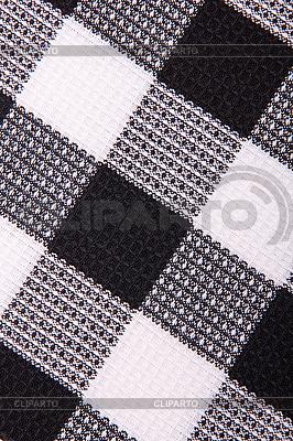 Czarny i tkaniny pościel whte | Foto stockowe wysokiej rozdzielczości |ID 3115669