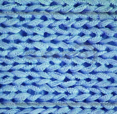 Blau gestrickt strukturierten Hintergrund | Foto mit hoher Auflösung |ID 3266988