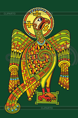 Celtic Eagle | Klipart wektorowy |ID 3280382