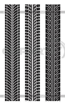 重复轮胎轨道 | 向量插图 |ID 3138453