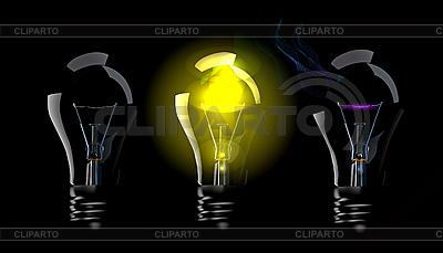Phase blown bulbs | Klipart wektorowy |ID 3142853