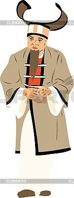 Orientalischer Mann mit Bart | Stock Vektorgrafik |ID 3059134