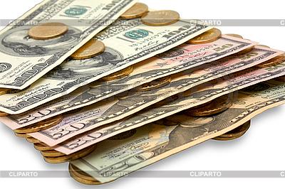 Dolary i monety | Foto stockowe wysokiej rozdzielczości |ID 3054226